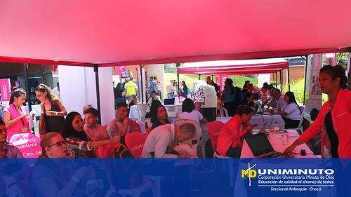 La Feria de Empleo más importante del Norte del Valle de Aburra se llevó a cabo en UNIMINUTO Sede Bello