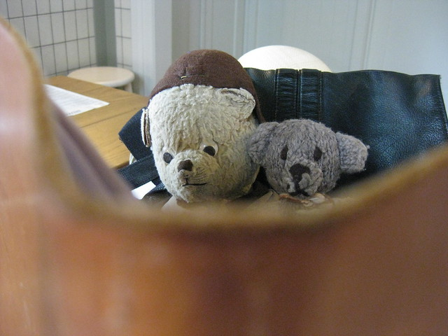 Paddington and Scout at the King Edward VII Sailors' Rest 1.