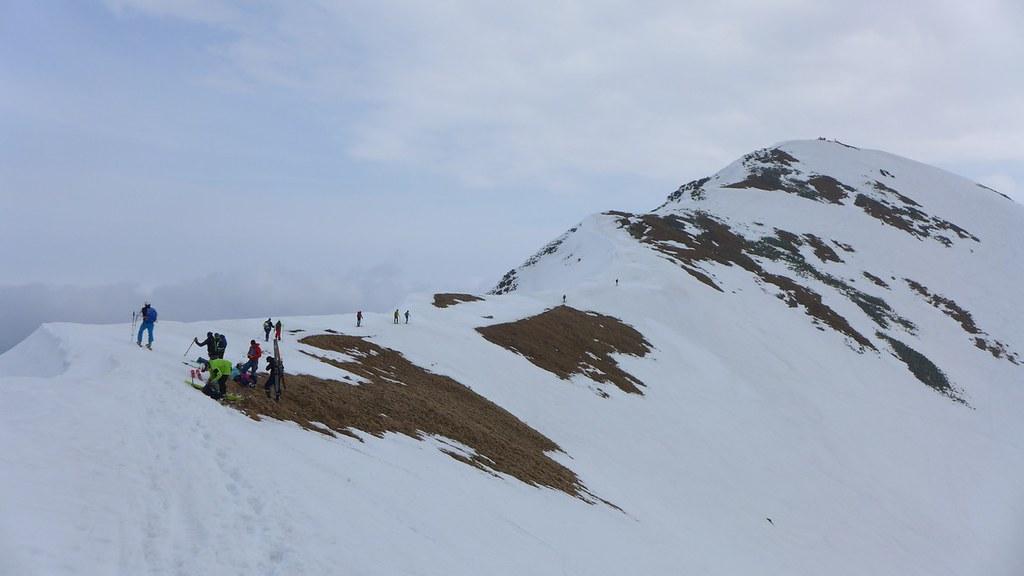 Hrubá kopa via Lúčne sedlo Západné Tatry Slowakei foto 11
