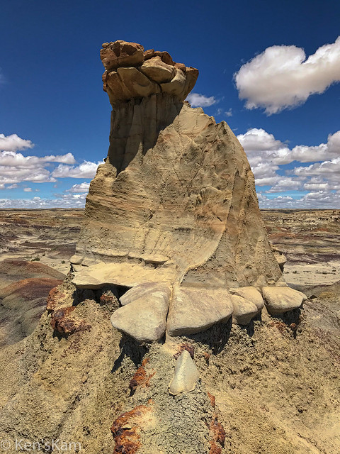 Bisti and Rock Formation