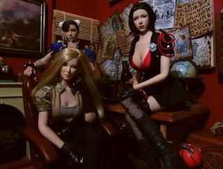 Trio of agents