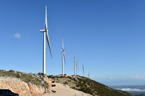 Ceremonija svečenog otvaranja vjetroelektrane Možura