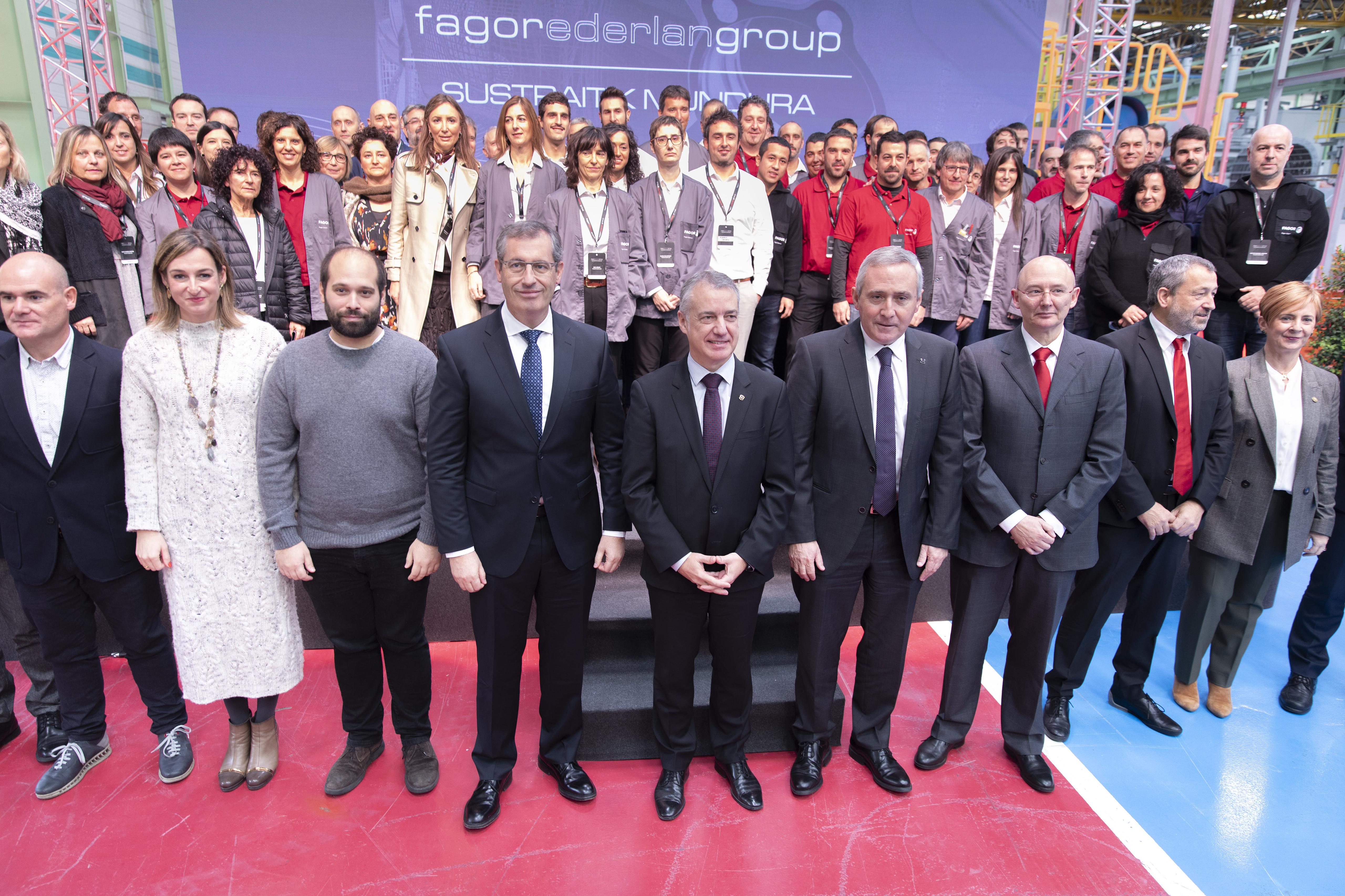 Fagor Ederlan inaugura la planta de Baja Presión en Bergara
