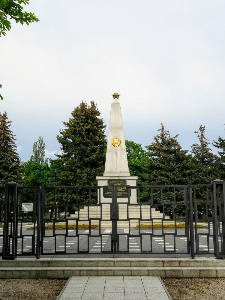 Вокруг Балатона и обратно. Воинские мемориалы Секешфехервара