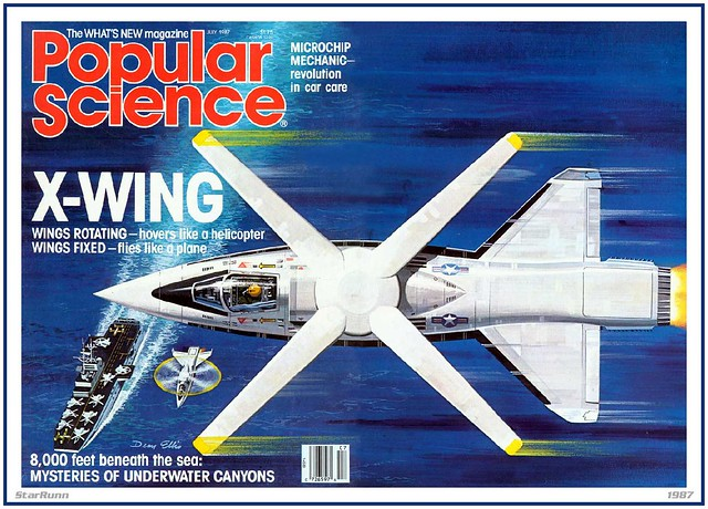 X-Wing - Popular Science - 1987