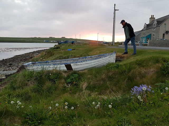 Westray boat noust