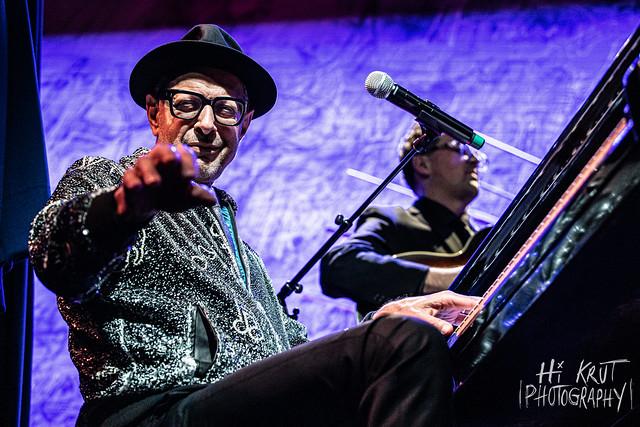 Jeff Goldblum & The Mildred Snitzer Orchestra at Sony Hall (New York, NY) on November 12, 2019