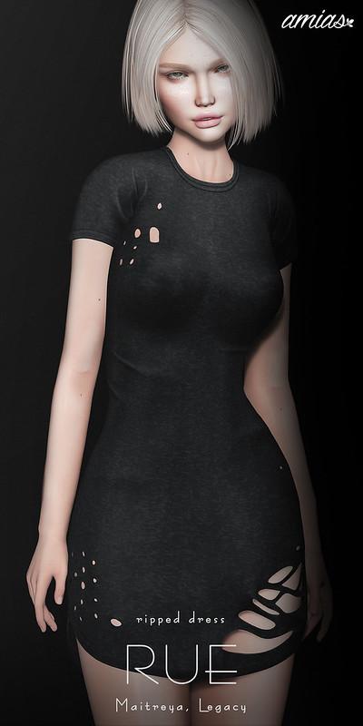 RUE dress @ Cosmopolitan
