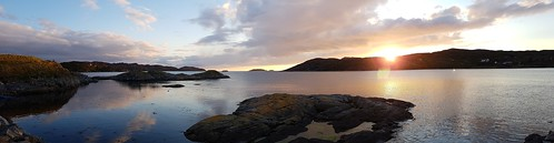 Lochinver sunset | by Sailing P & G