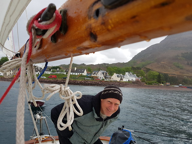 Tacking out Loch Dunvegan