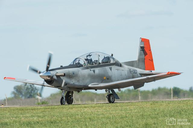 Beechcraft T-6C Texan II E-307