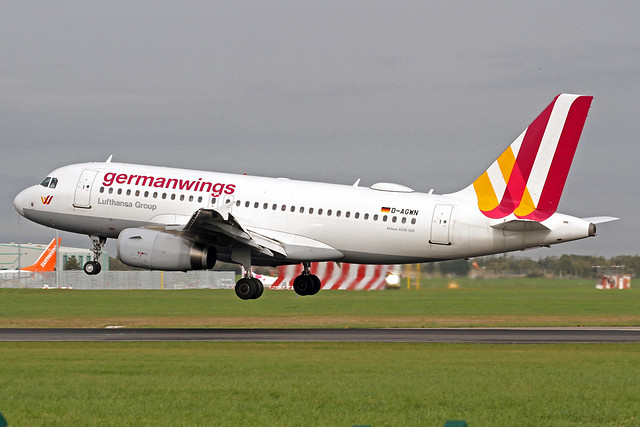 Germanwings Airbus A319-132 D-AGWN DUB 18-10-19