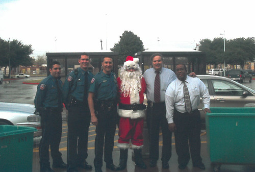 UT Police at Houston Annual Children's Gift Drive Through the Years