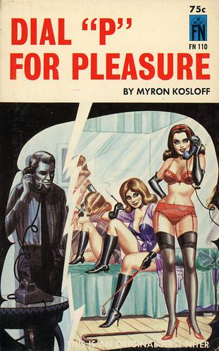 "First Niter Books 110 - Myron Kosloff - Dial ""P"" for Pleasure"