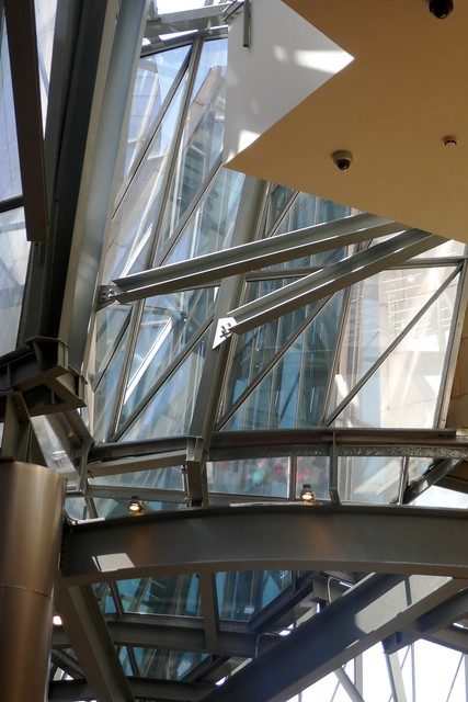 Enchevêtrement calculé, Musée Guggenheim, Bilbao, Biscaye, Pays Basque, Espagne.