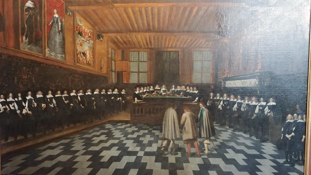 Cuadro Palacio de la Justicia Brujas