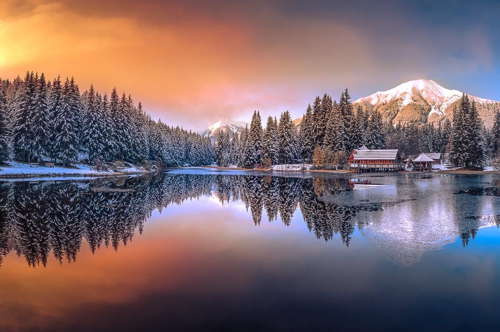 Die Hütte am See