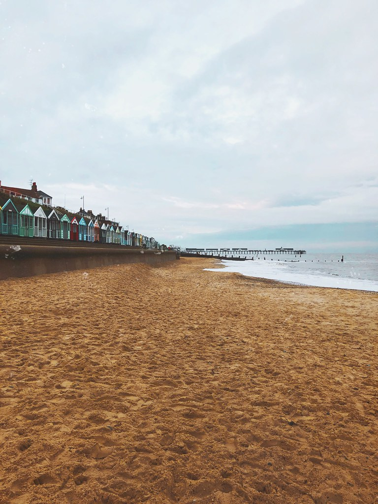Southwold Beach in Autumn
