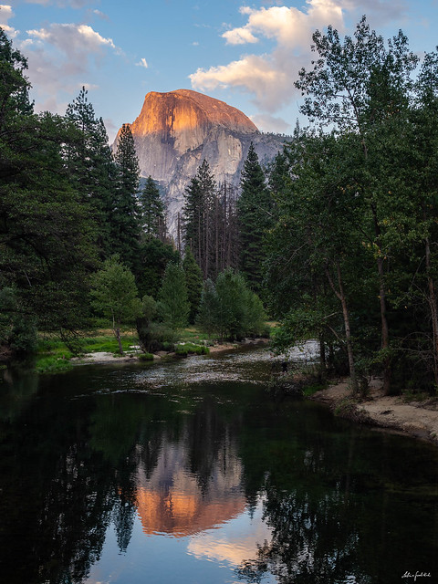 Reflection of the Half Dome