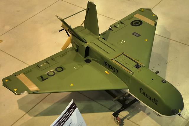 007 - Sagem CU-161 Sperwer recon UAV - National Air Force Museum of Canada, Trenton, Ontario