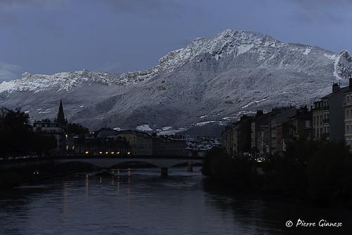 paysage landscape grenoble neige snow montagne mountain nikon d750 70200