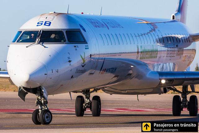 CRJ 1000 Air Nostrum EC-MSB