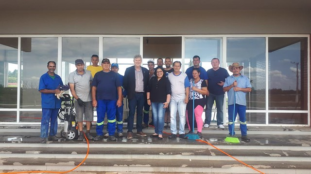 08/11/2019 Aeroporto João Manoel em São Borja