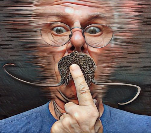 Seed Pod Mustache