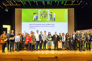 "12/11/2019 - 16:50 - On 12 and 13 November 2019 in Bilbao, the event brought together leading European experts and decision makers to discuss the results of the 2-year campaign ""Healthy Workplaces Manage Dangerous Substances"".  photo: © EU-OSHA / Fernando Aramburu Garrido"