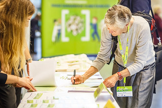 "13/11/2019 - 10:18 - On 12 and 13 November 2019 in Bilbao, the event brought together leading European experts and decision makers to discuss the results of the 2-year campaign ""Healthy Workplaces Manage Dangerous Substances"".  photo: © EU-OSHA / Fernando Aramburu Garrido"