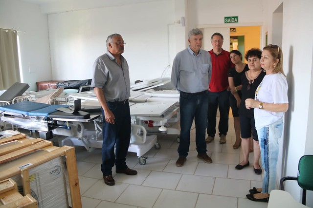 10/11/2019 Visita ao Hospital Santo Antônio em São Francisco de Assis