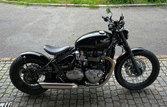 Triumph Retro Bike