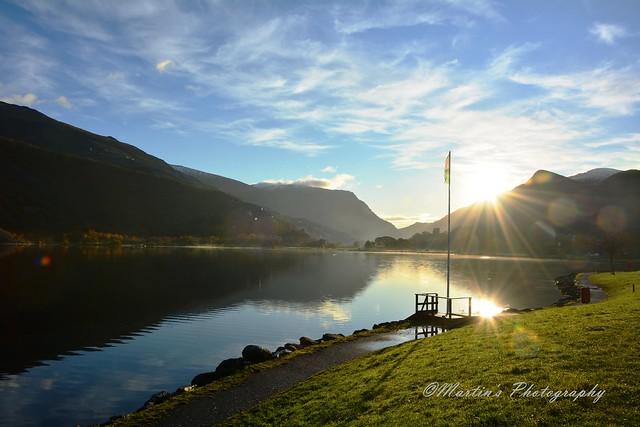 Lake view early morning