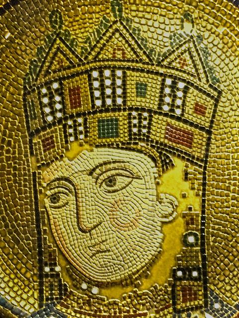 Byzantine Mosaic (Santa Sofia of Constantinople) Istanbul, Turkey