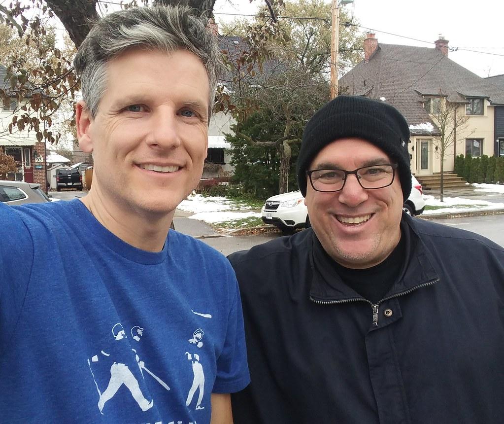 Jeff Domet and me