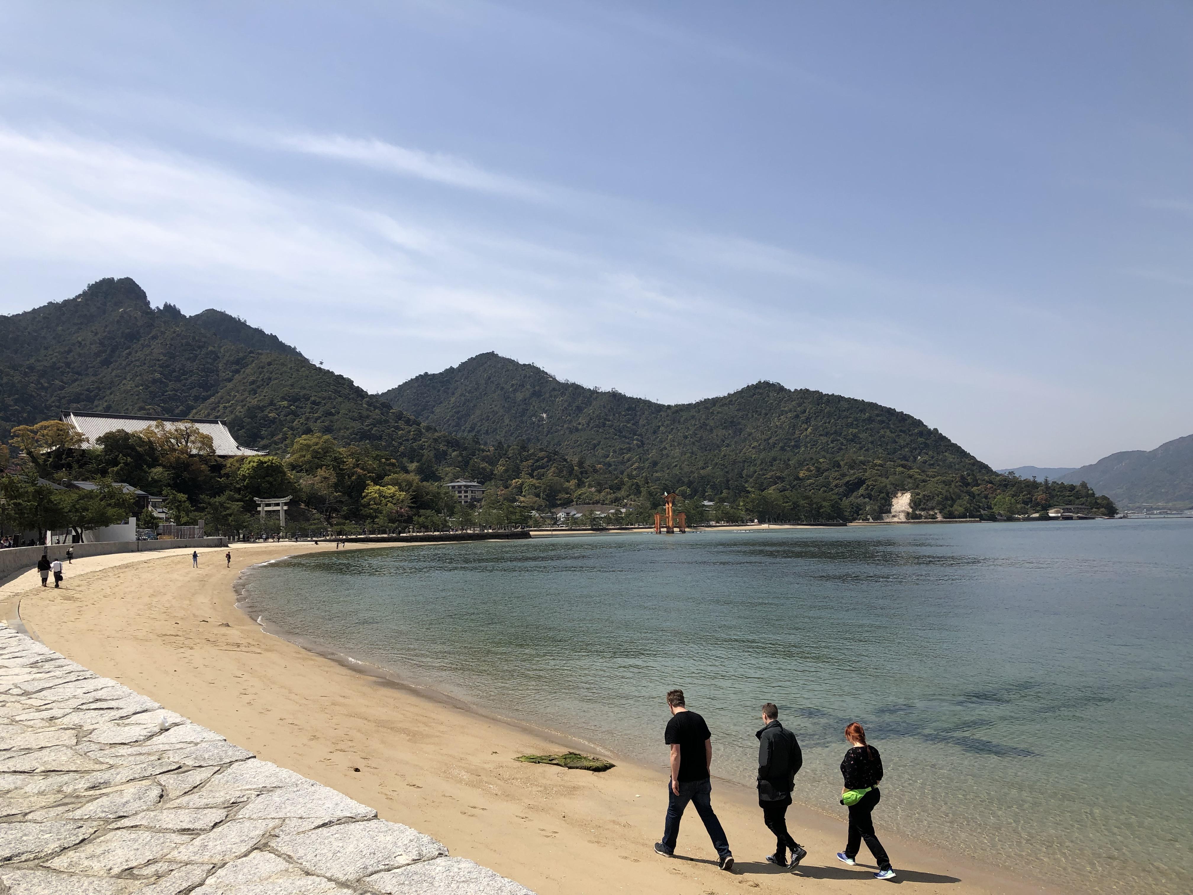 hiroshima beach