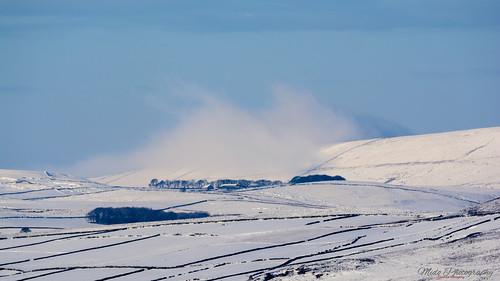 Peak district snow scene 02.02.19