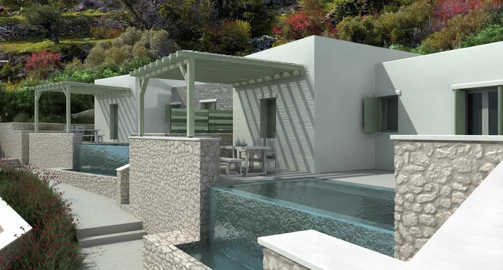 Villa huren op Karpathos, met privézwembad | Nature e Mare