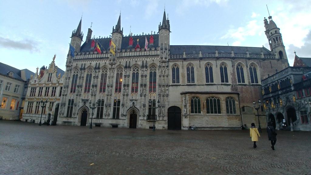 Plaza del Ayuntamiento Brujas