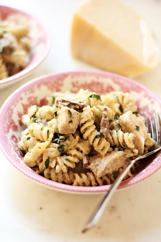 Garlic Parmesan Pasta 1