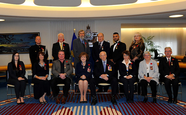 Sovereign's Medal for Volunteers - Edmonton Fall 2019