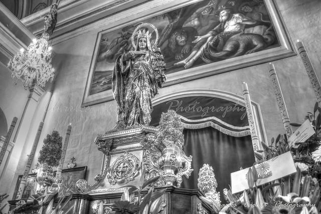 St. Venera Feast - Statue - Malta