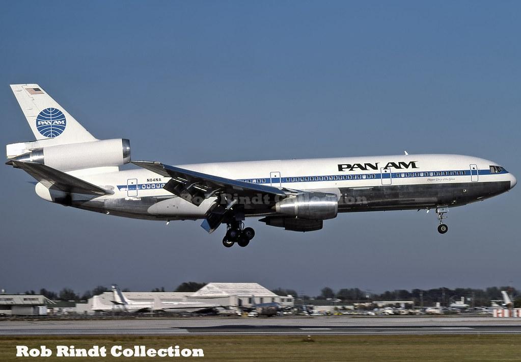 Pan American DC-10-30 N84NA