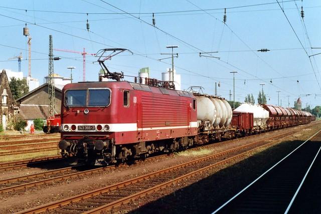 143 366-3 te Lengerich op 2-6-2000 (SCAN)