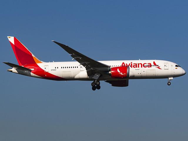 Avianca   Boeing 787-8 Dreamliner   N783AV