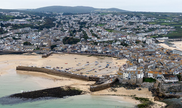 St Ives - Cornwall aerial image