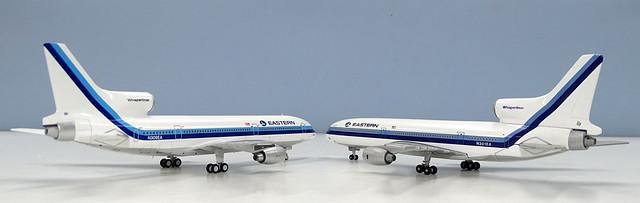 Old Gemini Jets vs New NG Models Tristar Comparison
