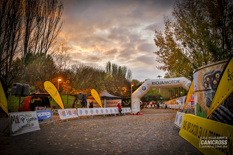 Canicross Logroño 2019, 16 noviembre