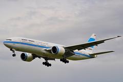 9K-AOB Heathrow 09-09-2010