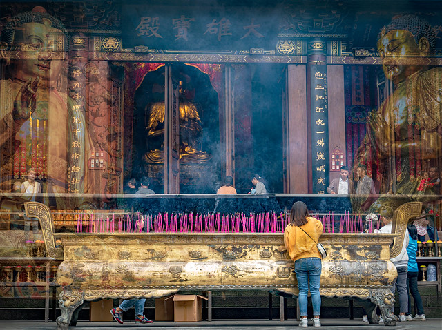 Buddha still well revered in China